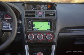 subaru wrx custom interior first drive 2015 subaru wrx sti drivingline