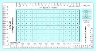 Feet In Meter Maptools Product Acreage Estimator For 1 24 000