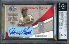 Johnny Bench Autograph Autographed Leaf Johnny Bench Baseball Cards Ebay