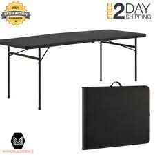 6 foot foldable table 6 fold in half table mainstays folding foldable portable party