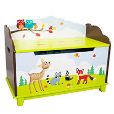How To Build A Toy Chest Out Of Wood by Amazon Com Fantasy Fields Enchanted Woodland Thematic Kids