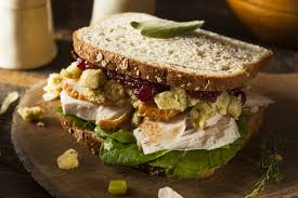 friends inspired thanksgiving turkey sandwich recipe recipe this