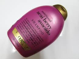 organix nutritional acai berry avocado shampoo review