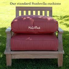 Custom Patio Chair Cushions Outdoor Furniture Cushions Sunbrella For Outdoor Outdoor