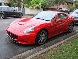 Ferrari California 2009 - aussie old parked cars 2009 ferrari california hard top convertible