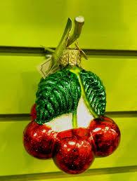 cherry ornament benjamin twiggs