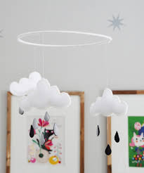 how to make a cloud nursery mobile apartment therapy