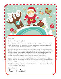 letters from santa claus easy free letters from santa customize your text and design and