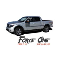 Classic Ford Truck Decals - ford f 150 force one digital appearance package hockey side door