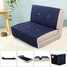 giantex fold down chair flip out lounger convertible sleeper bed