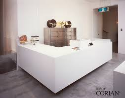 White Reception Desk Reception Desks U0026 Offices Dfmk Solid Surface Milton Keynes