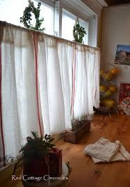 Cafe Home Decor How To Create Cafe Curtains For Under 5 Dollars Hometalk