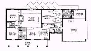 plans for ranch style homes floor plan house plan ranch style house plans 1800 square