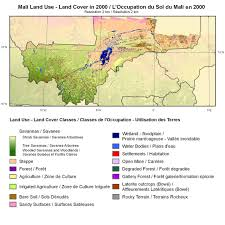 Mali Africa Map by Land Cover Applications And Global Change