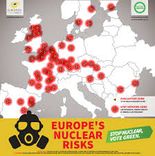 Map Radius Map Europe U0027s Nuclear Risks Maggie Chapman For A Just And