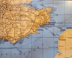 Map Of Kent England by Southern Railway The Dover Historian