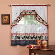 Best Motif Black And White Kitchen Curtains Also Gorgeous For