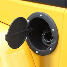 gas cap light jeep black fuel filler door cover gas tank cap 2 4 door for jeep wrangler