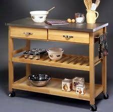 metal top kitchen island kitchen cart portable island wood top with metal shelves rolling