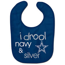 Dallas Cowboys Infant Clothes Dallas Cowboys Official Nfl Baby Bib All Pro Style By Wincraft