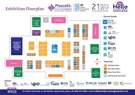 Exhibition Floor Plan Floorplan Procurex North