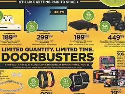 kohl s black friday ad and deals dwri sports