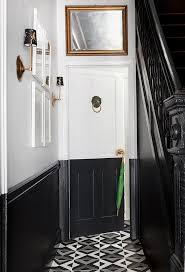 Decorator White Walls An Entryway Makeover In Black And White U2013 One Kings Lane U2014 Our