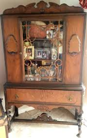 Cherry Wood Curio Cabinet Furniture Curio Cabinets For Sale Wood Curio Cabinet White