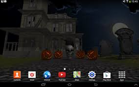 halloween phone wallpapers 3d halloween live wallpaper fr android apps on google play