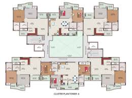 glamorous cluster house plans contemporary best image engine