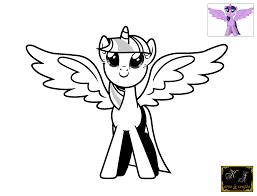 epic twilight sparkle coloring page 26 for your coloring print