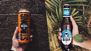 light beer calories list bira beer brand launches 2 new beers strong and light gq india