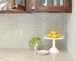 mini subway tile kitchen backsplash this will be my s new kitchen back splash as soon as she