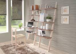 furniture white leaning desk leaning desk leaning shelf plans