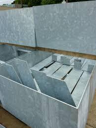 galvanized steel planters roselawnlutheran