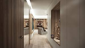 wood paneled walls take many different forms in the three homes