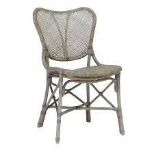 Palecek Chairs Palecek Jordan Side Chair Grey Tuvalu Coastal Home Furnishings