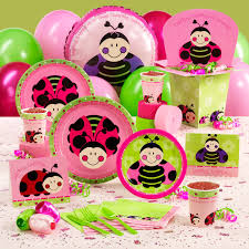 Ladybug Baby Shower Centerpieces by Pink And Green Ladybug Baby Shower Decorations Gallery Baby
