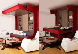 canapé lits canape lit cosy lift plateau mobile espace loggia