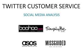 asos siege social customer service analysis of four brands our social