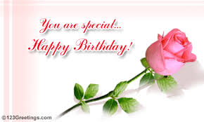 happy b day to someone special free flowers ecards greeting