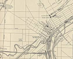 Toledo Map Railroad Maps U0026 Timetables Page 2 Employee Timetables Courtesy