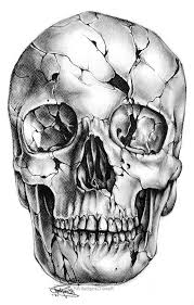 realistic skull tattoo designs 1000 ideas about skull drawings on