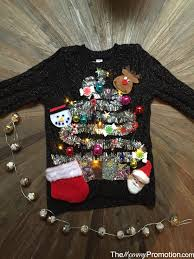 diy ugly cute christmas sweater u2013 for kids u2013 mommy promotion