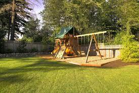 Kid Backyard Ideas Backyard Playground And Swing Sets Ideas Backyard Play Sets For
