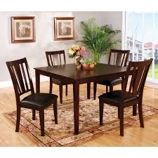 furniture of america friedrich modern 9 piece counter height