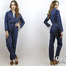 blue mechanic jumpsuit best vintage mechanic coveralls products on wanelo