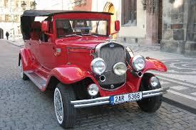 vintage cars old timer vintage car tour of prague