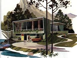 1950s modern home design mid century modern house plans mod delights interiors furniture
