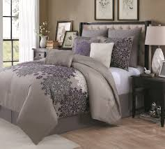 Black And Purple Comforter Sets Queen Bedroom Bedspread Queen Size Comforter Sets Cotton Duvet Covers